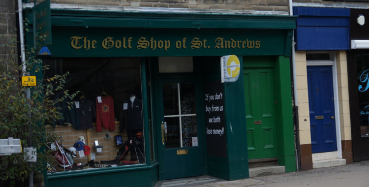 The Golfshop of St Andrews - Quelle: Flickr / dfarrell07